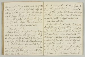 Extracts from Queen Charlotte's diary, dated 24-25 November 1789