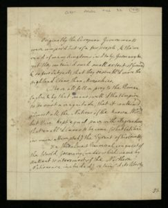 Essay on Government from George III's essay collection