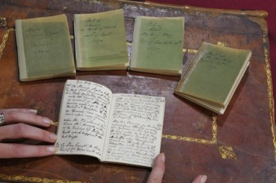 Five of Queen Charlotte's diaries