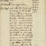 Queen Charlotte's Notes on the Reigns of Pippin and Charlemagne, complete with her code for representing dates of historical events