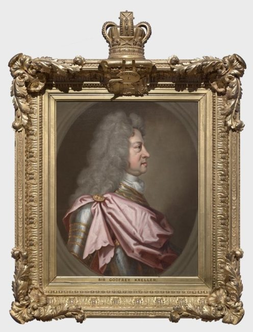 Portrait of George I by Sir Geoffrey Kneller