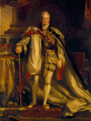 Standing portrait of William IV