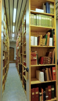 Georgian Papers stored in the Royal Archives.