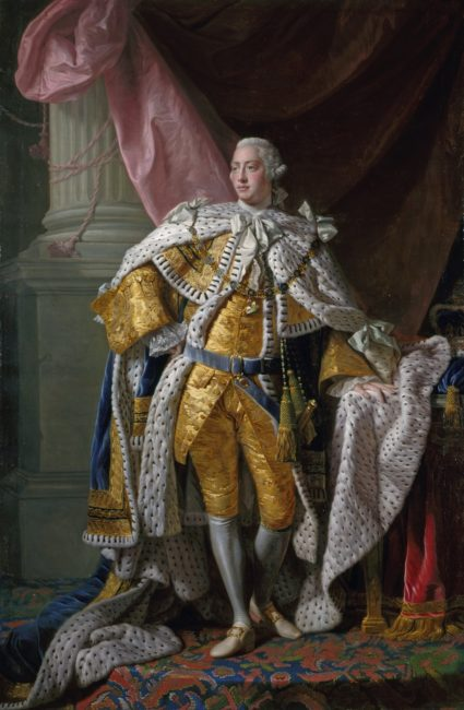 George III by Allan Ramsay, c.1761-1762