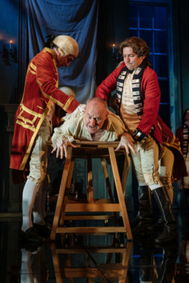 Mark Gatiss in the Nottingham Playhouse production of The Madness of George III