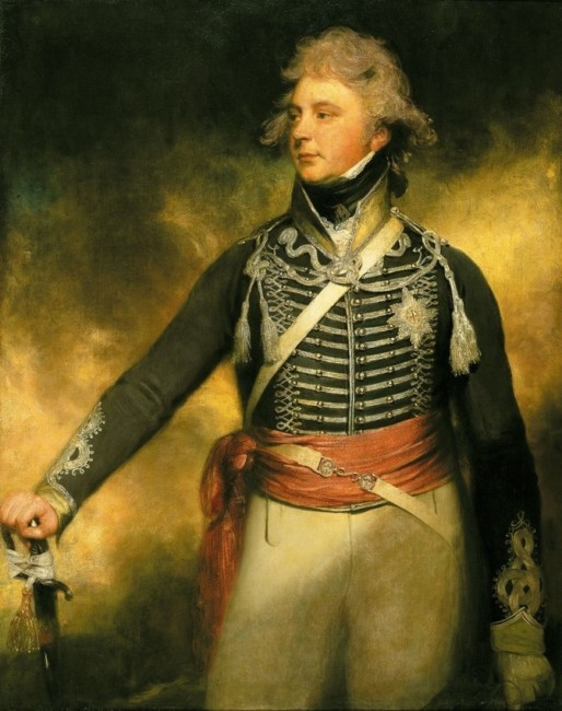 Portrait of George IV in military dress