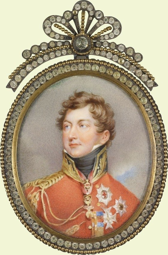 George VI when Prince Regent. RCIN 422432