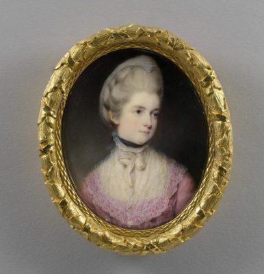Maria, Duchess of Gloucester by Ozias Humphrey. RCIN 420967
