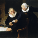 "Image of ""Portrait of Jan Rijcken and his Wife, Griet Jans ('The Shipbuilder and his Wife')"""