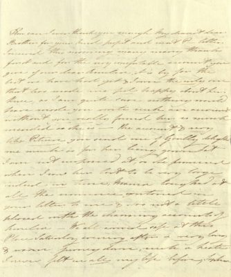 Handwritten letter from Princess Mary to Prince of Wales