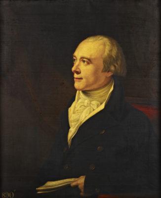 Side portrait of Spencer Perceval